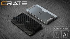 RFID blocking functional and versatile wallet that's fully modular! Made In USA