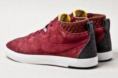 Nike Kenshin Chukka Red Wine