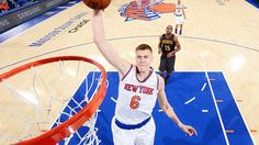 #NBA: Kristaps Porzingis trabaja para mejorar en el poste