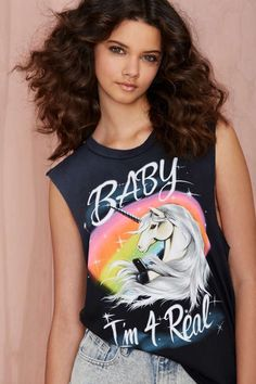 UNIF I'm For Real Muscle Tee | Shop Clothes at Nasty Gal