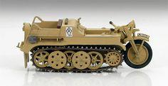 Hobby Master SdKfz2 Kleines Kettenkraftrad Ramcke Fallschirmjaeger Brigade