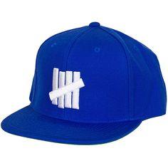 Undefeated Snapback Cap 5 Strike blau ★★★★★