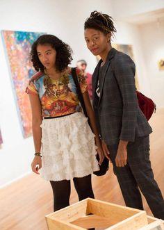 Kara Walker and Daughter. The Studio Museum Harlem Kara Walker, Walker Art, New York City Museums, African Diaspora, Mothers Love, Best Mom, Mommy And Me, Black Girl Magic, Lovers Art