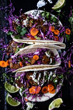Korean-Style Tacos with Sweet Earth Foods | VEGAN
