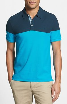 Original Penguin Colorblock Polo available at #Nordstrom