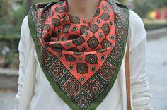 Vintage scarf | Style Letter