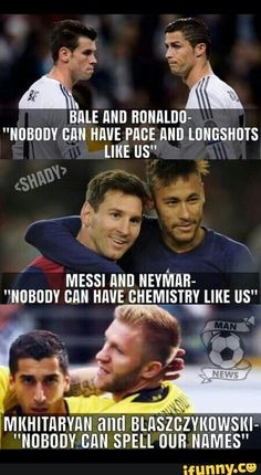 38 Ideas For Sport Memes Football Funny Football Memes, Soccer Jokes, Funny Sports Memes, Soccer Stuff, Funny Soccer Quotes, Golf Quotes, Minions Quotes, Memes Ronaldo, Cr7 Junior