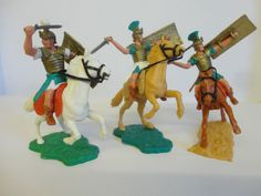 Timpo Mounted Roman Figures (3) AweSome Figures!!