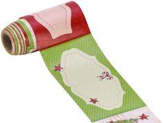 """Heyda Klebe-Etiketten """"Weihnachten I"""", 9,5 x 4,5 cm, 24 Stück € 2,49"""