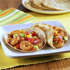 Easy Grilled Shrimp Tacos