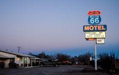 Motel an der Route 66 © Julia Schafhauser