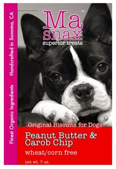 Treat your furry loves to PB & Carob Chip biscuits. February treat special. #ValentinesDay