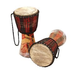 """Picture of Ghana D'Jembe Drum: MD/LG (19""""-21"""")"""