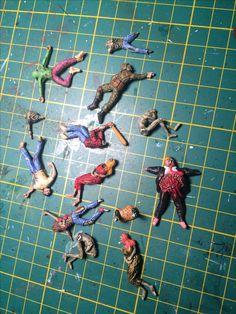 The walking dead | dead bodies everywhere #ttcombat