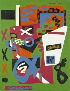 Stuart Davis: In Full Swing | Through Sept 25 | Semé, 1953