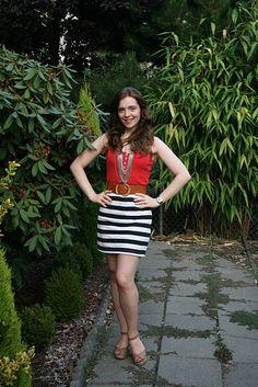 #upcycle shirt into skirt