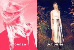 proenza schouler spring 2014 campaign1 David Sims Captures Proenza Schoulers Spring/Summer 2014 Campaign