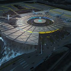 Rogers Stirk Harbour + Partners appointed to design new terminal at Lyon-Saint Exupéry Airport
