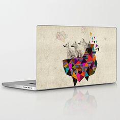 The Night Playground by Peter Striffolino and Kris Tate Laptop & iPad Skin