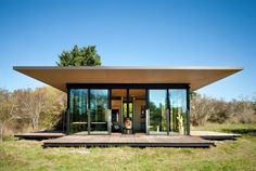 A 500 sq ft writer's retreat and guest cottage on San Juan Island in Washington.