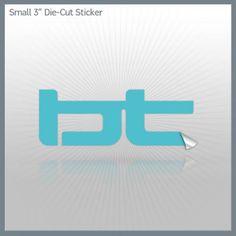 BT die cut sticker #music