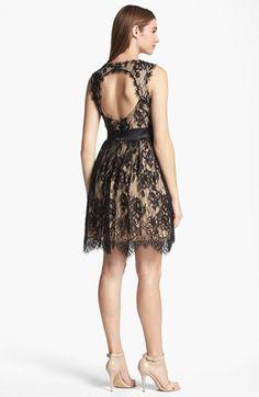 Betsy & Adam Embellished Lace Dress | Nordstrom
