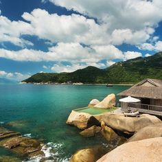 Next, well done to Water Villa 5 at Six Senses Ninh Van Bay, officially the Sexiest Bedroom in the world!