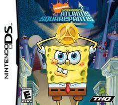 SpongeBob SquarePants Atlantis SquarePantis (Nintendo DS, 2010)