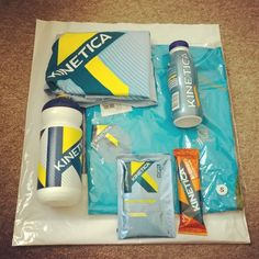 Brilliant goodies from @kineticasports today as well as a nutrition chat with @mattlovell AND a roller derby bout with my beautiful and wonderful team @rebellionrd. Here's a picture. Thank you, internet. - Thanks @mosleyshores!