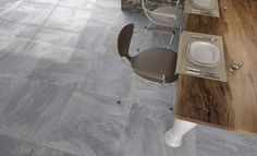 Earth is a natural looking porcelain tile with an amazing structured surface. Virtually every tile is different which further enhances its natural effect.