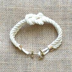 Image of Nautical Square Knot Bracelet