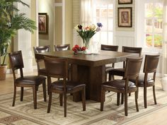 [Dining Room Ideas] Top 20 Pictures Square Dining Room Table For 8: Riverside…