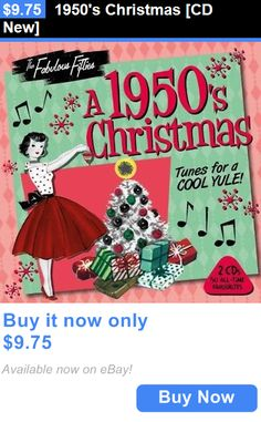 Christmas Songs And Album: 1950S Christmas [Cd New] BUY IT NOW ONLY: $9.75