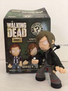 Walking Dead FUNKO Mystery Minis *Series 4 Daryl Dixon #FUNKO