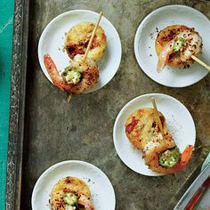 Grits-and-Gumbo Tarts | Capture the iconic flavors of New Orleans in these easy-to-make tarts.