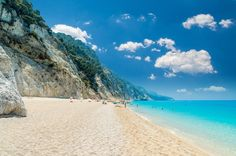 What To Do in Lefkada: Beaches, Attractions and Day Trips - Passion for Hospitality Seychelles Beach, Exotic Beaches, Greece Travel, Greek Islands, Mykonos, Beautiful Beaches, Day Trips, Seaside, Greece