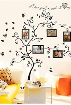 Colorful-Decals-Kiss-Birds-Trees-Hearts-Leaves-Black-Photo-Picture-Frame-Decal-Removable-Wall-Decals-Large-Wall-Stickers-Love-Quotes-Decorative-Painting-Supplies-Wall-Sticker-for-Living-Room-Bedroom-W-0
