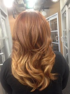 Copper Balayage, Balayage Hair, Hair Inspo, Hair Color, Long Hair Styles, Strands, Beauty, Painting, Ideas