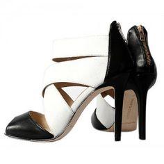 Manolo Blahnik Zip Back Sandal [MB07] - $110.00 : Designershoes-shopping, World collection of Top Designer high heel UP TO 90% OFF!