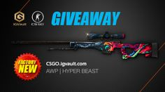 CSGO IGVault Weekly Giveaway - AWP | HYPER BEAST (11/27/2016)... sweepstakes IFTTT reddit giveaways freebies contests