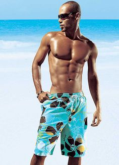MEN'S SWIMWEAR: Olympia Hawaiian Swimming Shorts