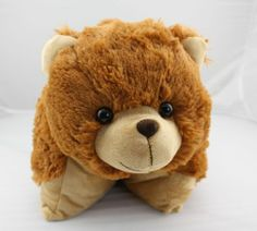 Cute Bear Doll Pillow Pet Plush Stuffed Toy great gift