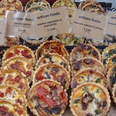 Artisan foods at the London Farmers' Market