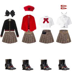 Korean Girl Fashion, Blackpink Fashion, Kpop Fashion Outfits, Stage Outfits, Korean Outfits, School Fashion, Dance Outfits, Fashion Looks, Fashion Design