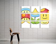 video game home decor | Video Game Home Decor | MASKED MUSCLE, Mario