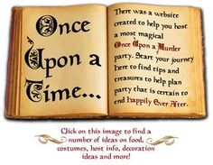 Once Upon a Murder | Night of Mystery – Downloadable Murder Mystery Parties