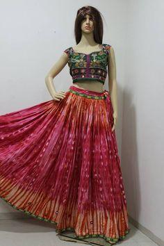 Designer Wear Chaniya choli & Lehgas for Navratri Only @....... on.fb.me/1P0VN9w