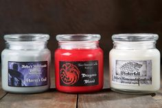 Candle Set, Candle Holders, Homemade Candles, Apothecary Jars, Soy Wax Candles, Online Gifts, Candle Making, Go Shopping, Game Of Thrones
