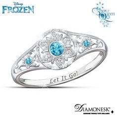 Disney FROZEN Enchanted Snowflake Ring....so pretty!