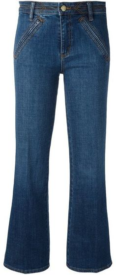 dcc793cfcee Tory Burch Cropped Flare Jeans - Farfetch